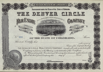 188_ THE DENVER CIRCLE REAL ESTATE COMPANY