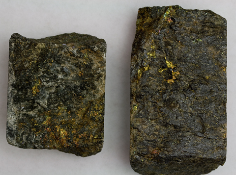 GOLD ORE CORE SAMPLES - Mojave Desert, California