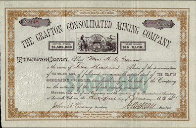 1901 THE GRAFTON CONSOLIDATED MINING COMPANY