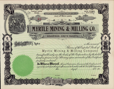 190_ MYRTLE MINING & MILLING COMPANY
