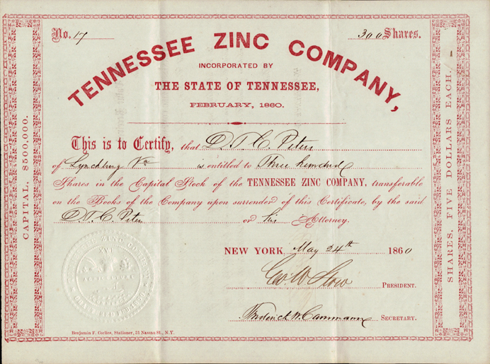 Stock Certificates From Other States – Company Share Certificates